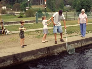 Fish Hatchery in Grayling MI