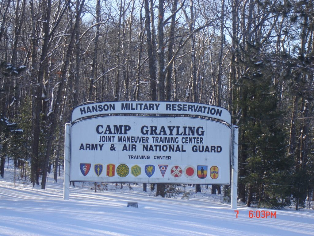 Camp Grayling Military Installation in Grayling MI
