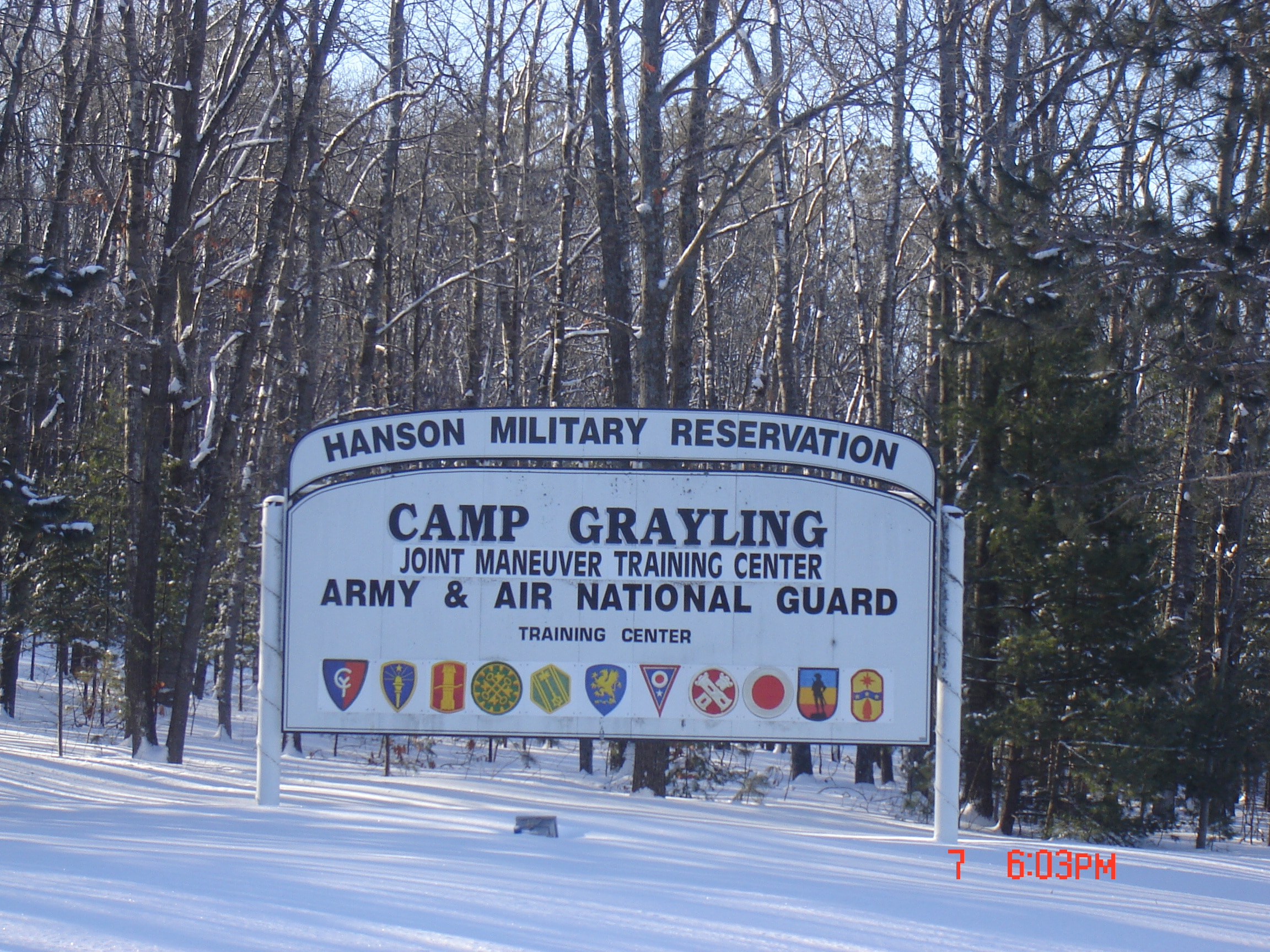 Camp Grayling Military Installation In Mi