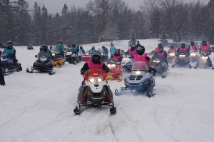 For Women Only Snowmobile Ride