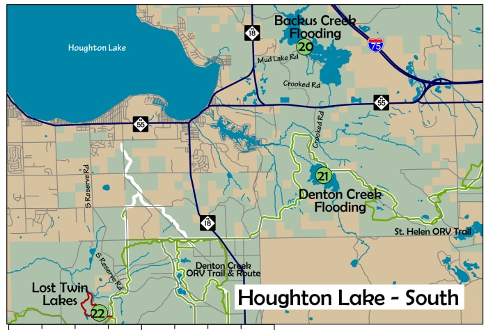 The AuSable Birding Trail: Houghton Lake South Area
