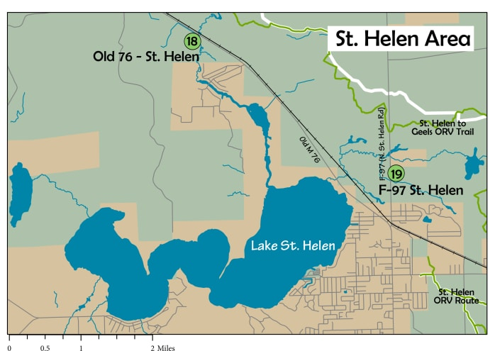 The AuSable Birding Trail: St. Helen Area