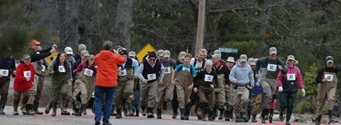 Annual Trout Opener, Leaky Waders Fun Run