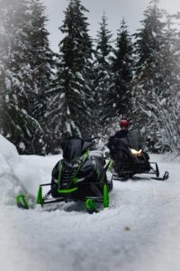 Snow conditions for snowmobilers 12/3