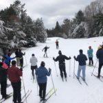 XC Ski Conditions 1/3/12