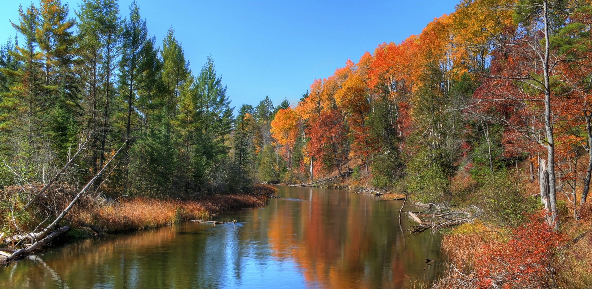 AuSable River Fall Slider