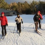 XC Ski Conditions 3/3 - In Grayling MI