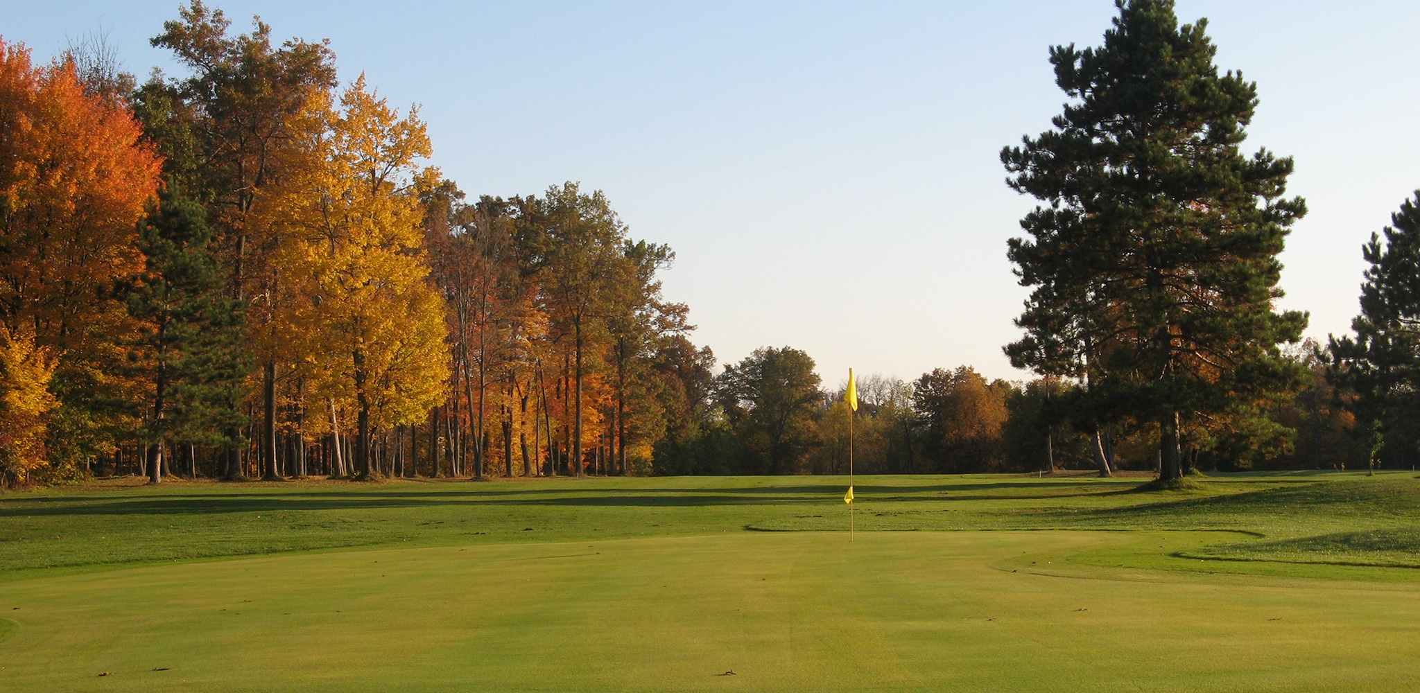 Enjoy Fall Golf in Grayling