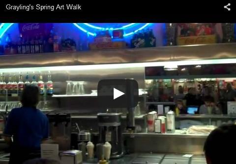 Grayling Spring Art Walk