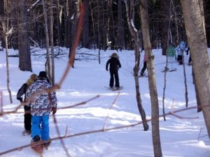 2019 Hartwick Pines State Park Full Moon Snowshoe Hike