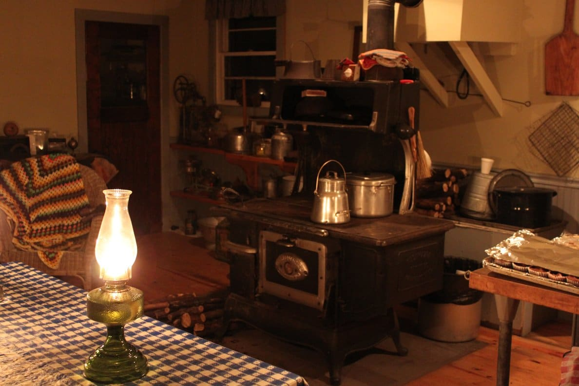 The Farm by Lantern Light