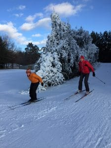 Senior XC Ski lessons